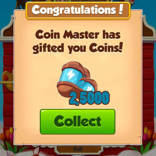 Coin Master 25 Free Spins
