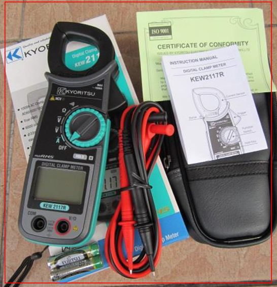 Kyoritsu Digital Clamp Meter - Kew 2117R