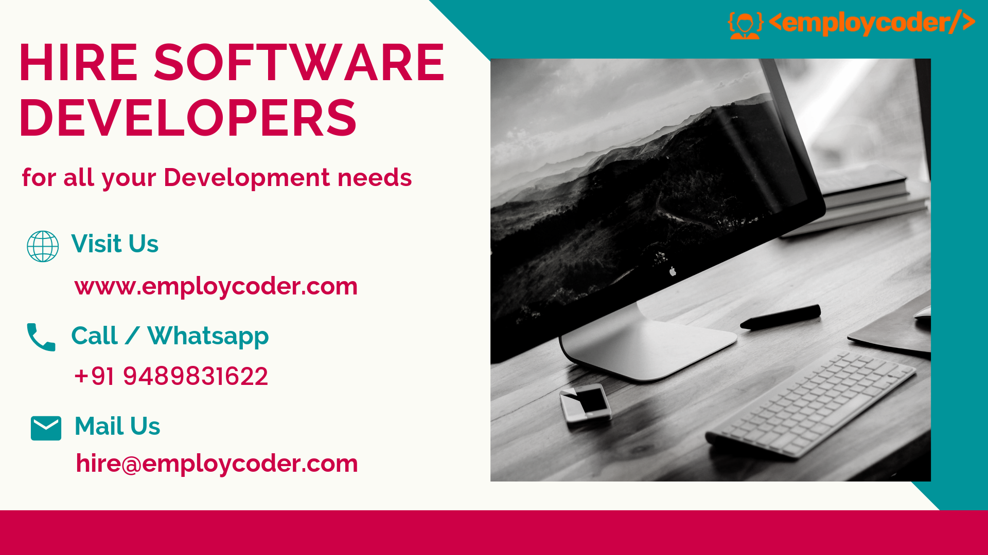 Hire Software Developers from Employcoder for all your Development Needs.