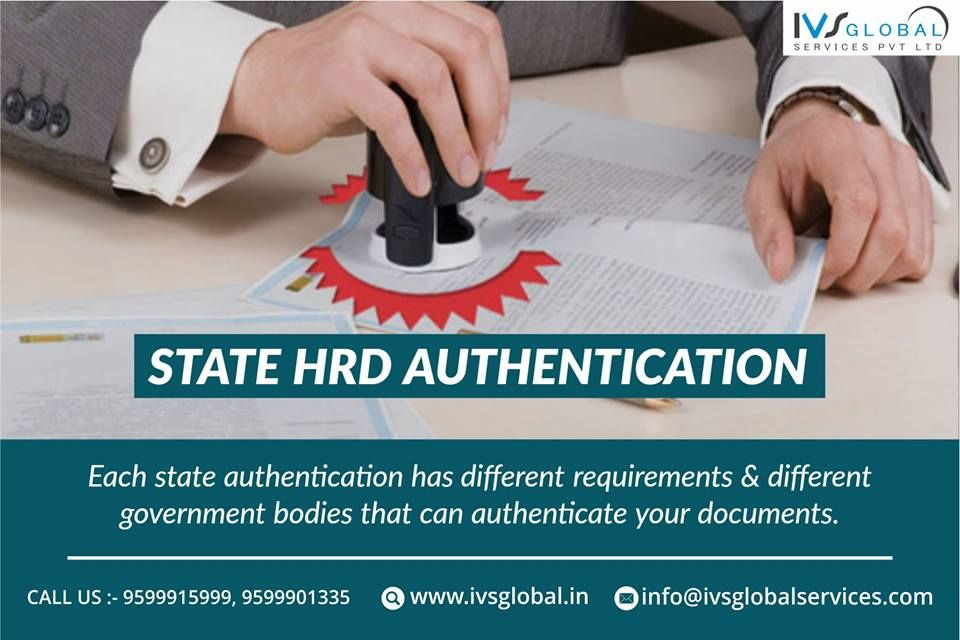 HRD Attestation in Delhi
