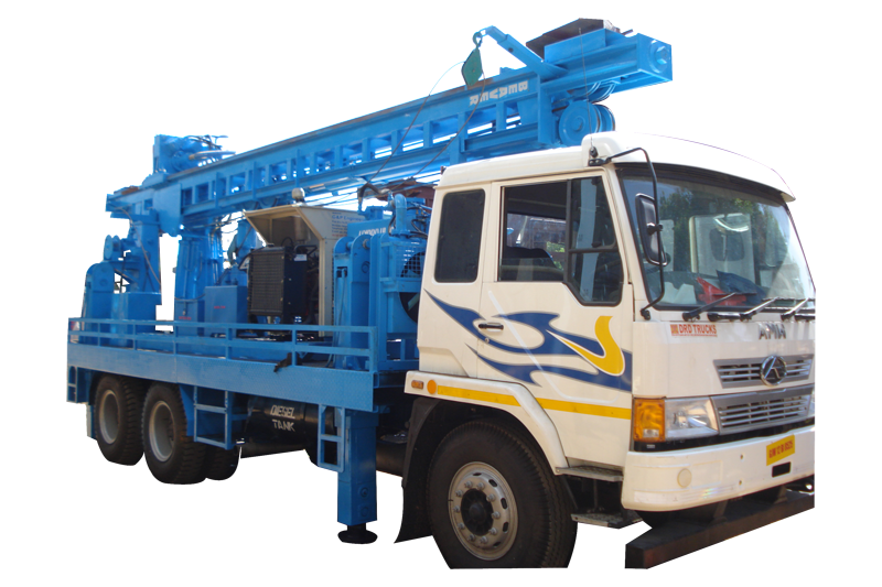 Rotary cum DTH Drilling Rig manufacturers suppliers, and exporters