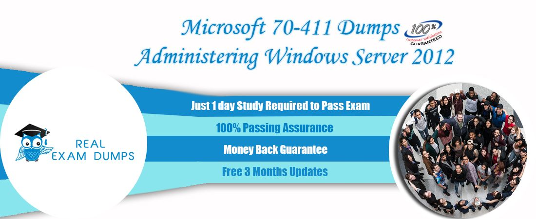 Microsoft 70-411 Exam Study Best Guide - 70-411 Exam Questions Real Exam Dumps