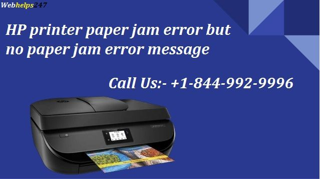 Contact us for Resolving Paper Jam Issue with Expert Guidance call us +1-844-992-9996