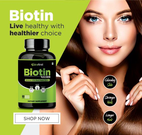No More Hair Fall And Dandruff With Biotin Capsules