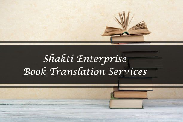 Book Translation Services in India