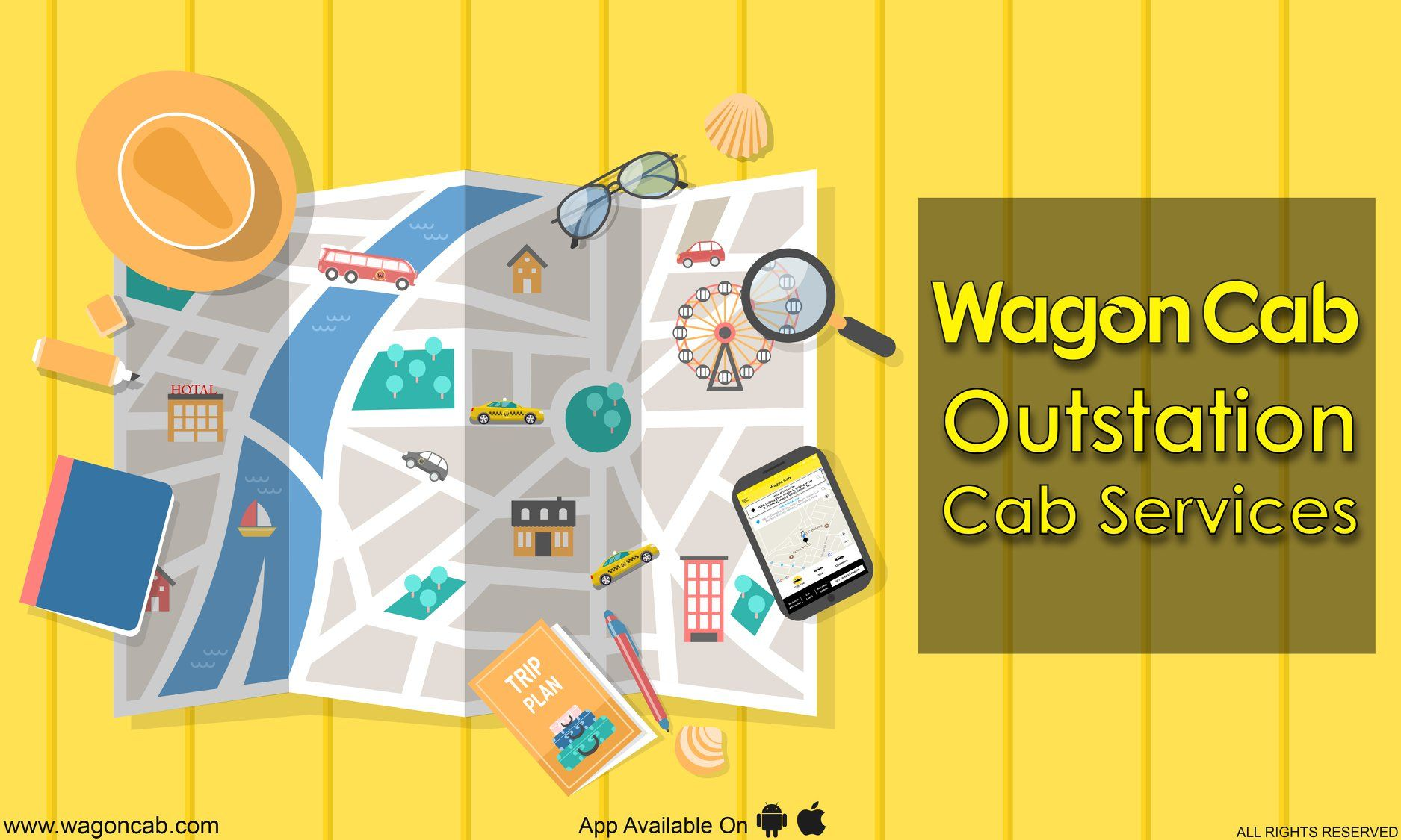 Outstation Cab Service in Gurgaon -Wagon cab