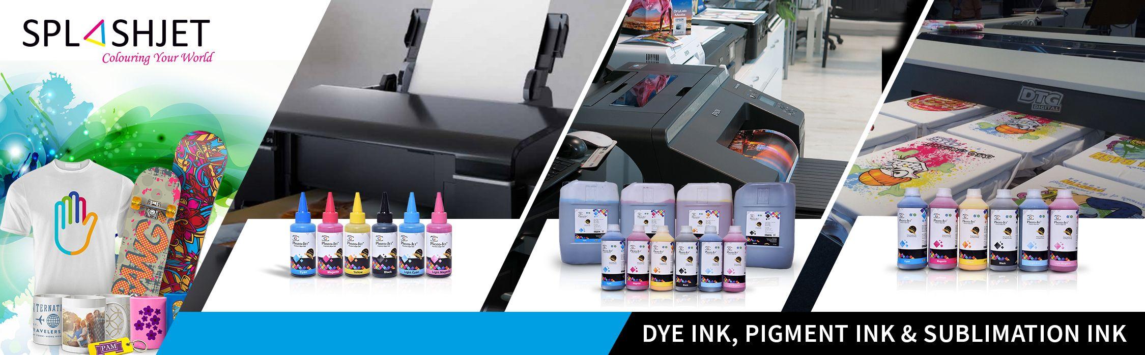 High Quality Inkjet Ink, DTG Ink, Sublimation Ink, Plotter Ink