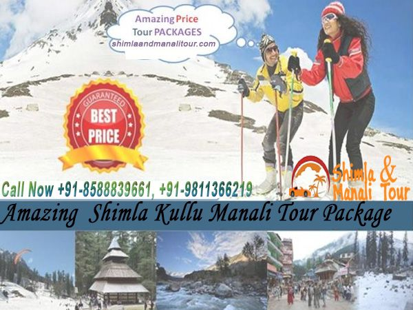 Shimla Kullu Manali Tour Package From Delhi By Car