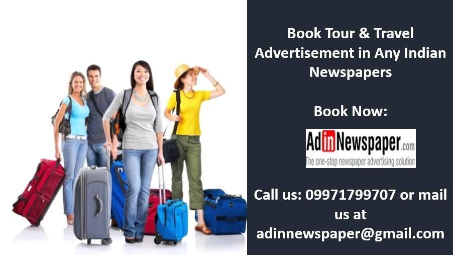 Travel Advertisement in Newspaper
