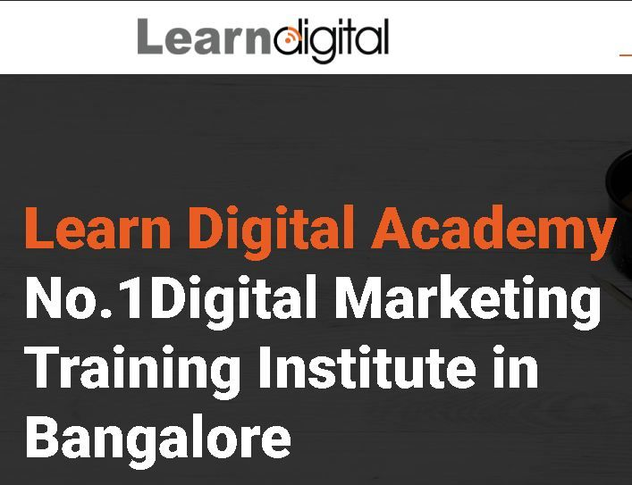 Advanced Digital Marketing Master Course in Bangalore