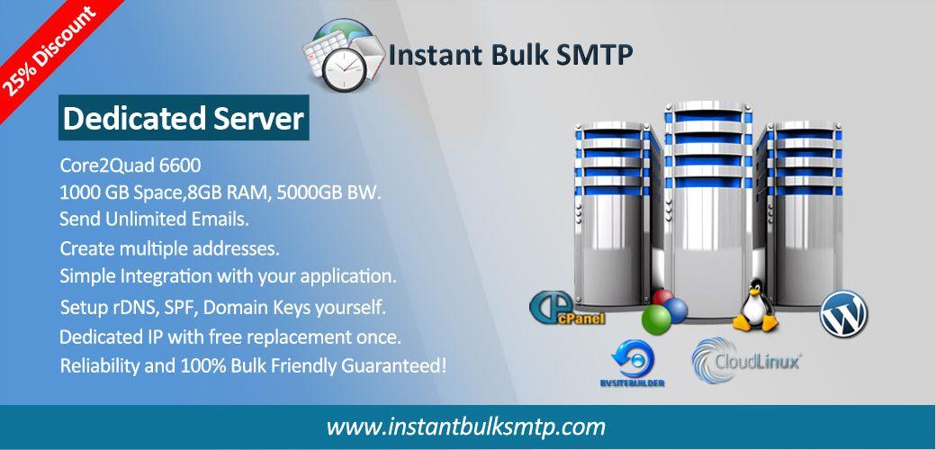 Bulk SMTP Instant, Bulk Email Hosting, High Volume Email ...