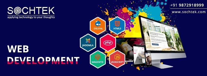 Website Design and Development Company in Chandigarh Sochtek