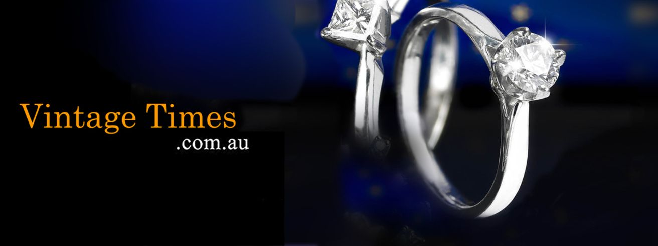 Buy Men's Wedding Rings - Vintage times