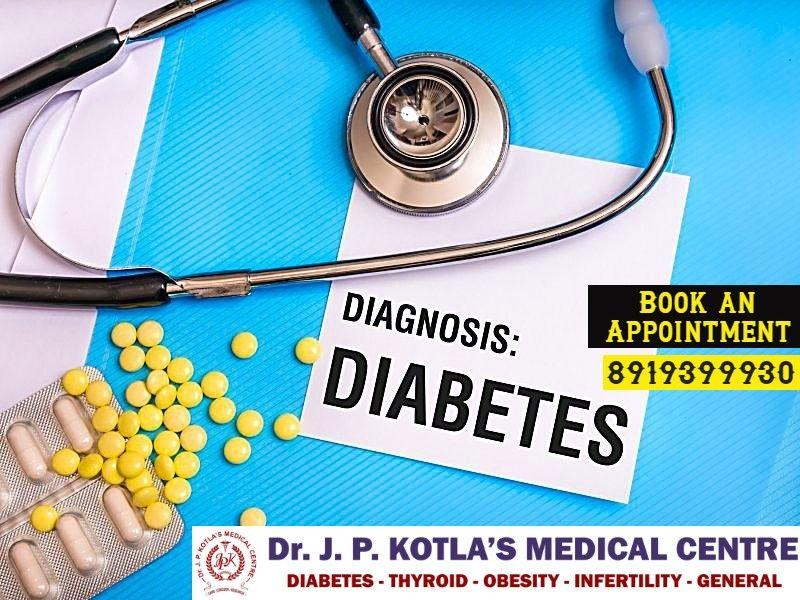 Best Diabetologist in Himayat Nagar - Dr.JP Kotla Medical Centre