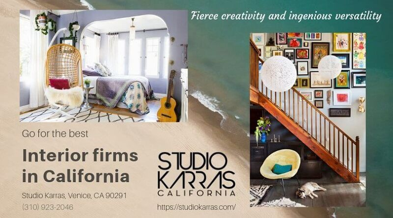 Looking for the best interior firms in California?