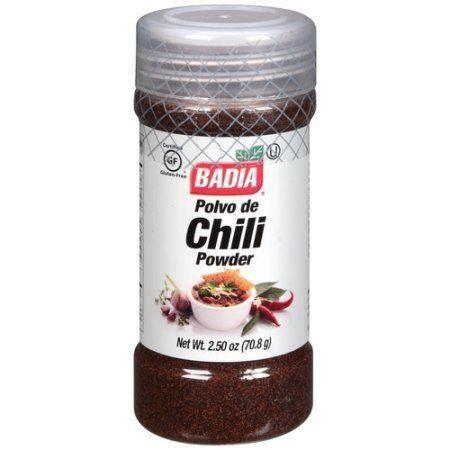 Badia Chili Powder 70.9g (2.5oz) (Box of 12)
