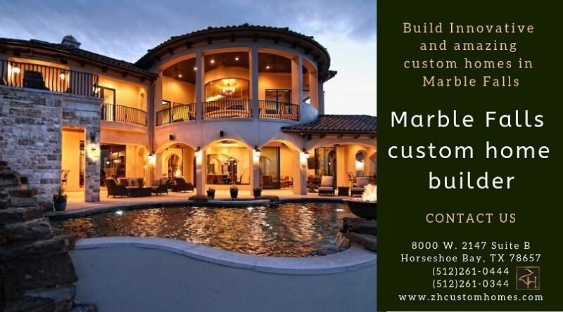 Build Innovative and amazing custom homes in Marble Falls.