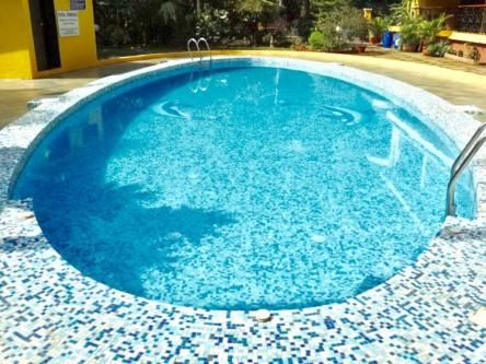 2 BR, 1400 ft² – Luxurious 2BHK Pool Facing Fully Furnished Apartment Calangute