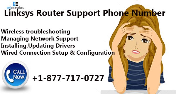 Linksys Router Support Phone Number +1-877-717-0727 USA