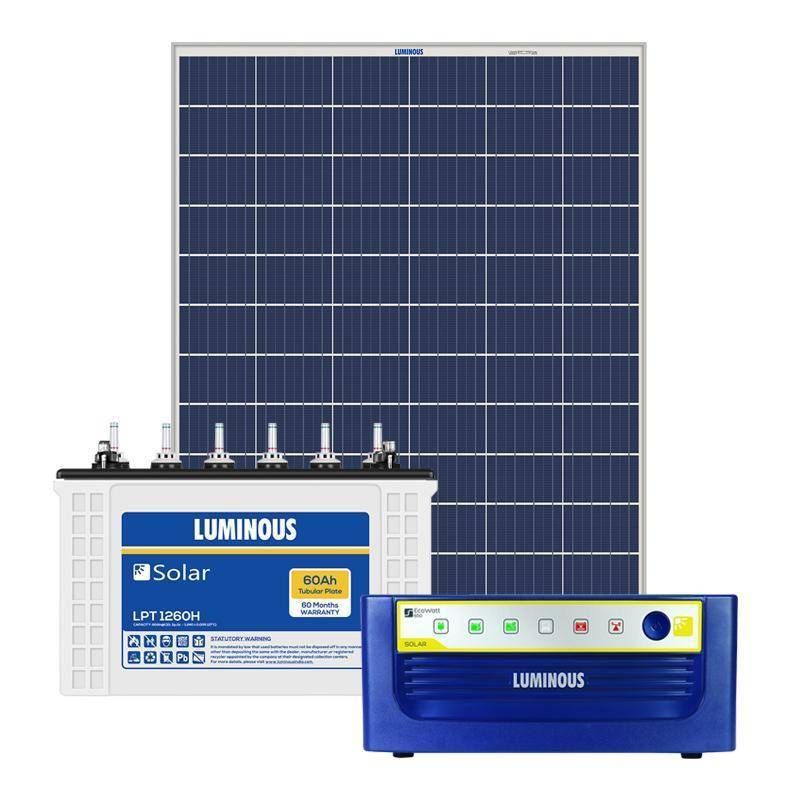 Luminous is India's Leader in UPS systems and Solar Panels Supply