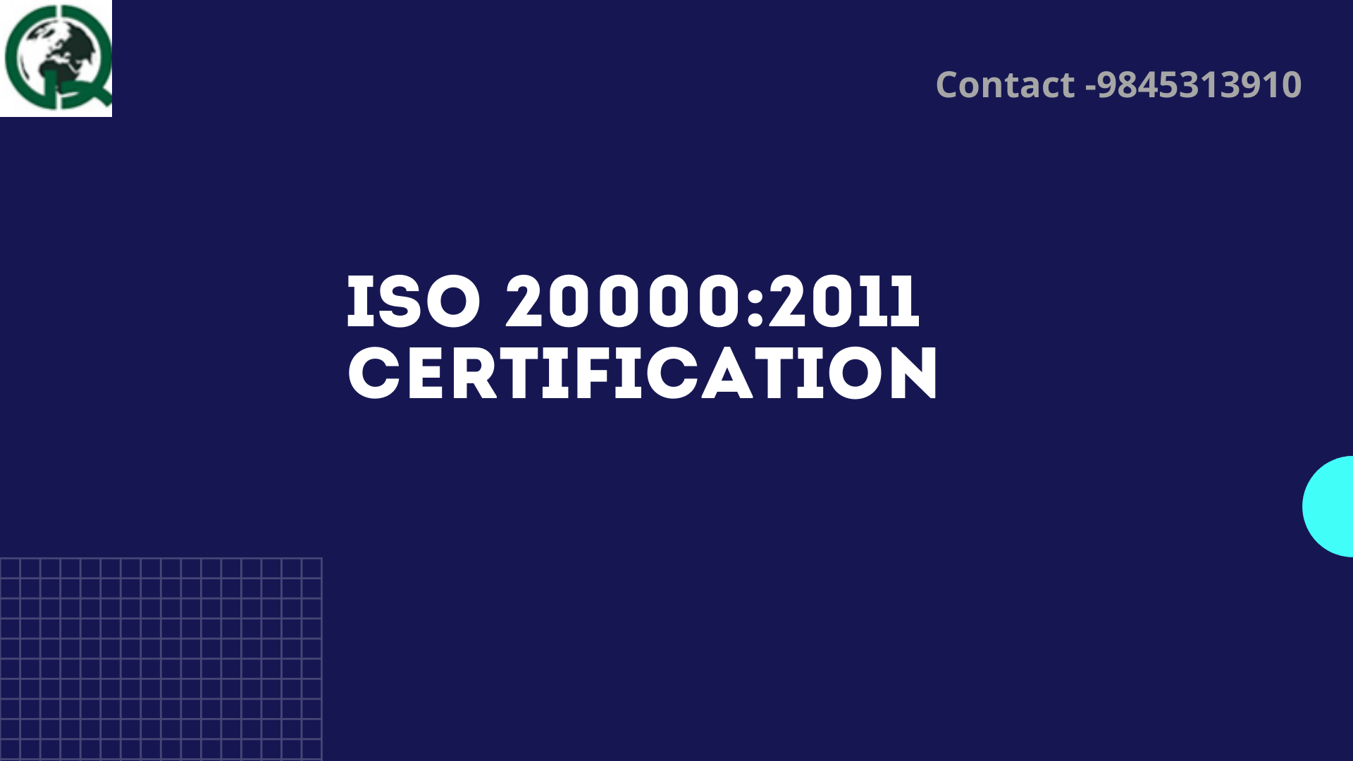 ISO  20000:2011 Certification in Bangalore