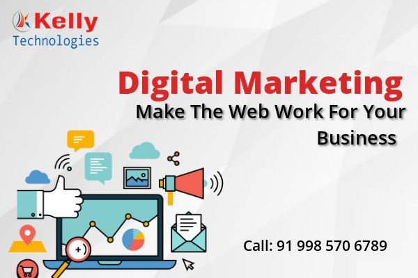 Avail The Kelly Technologies Top-Rated Career Program Of Digital Marketing Training In Hyderabad By Domain Experts