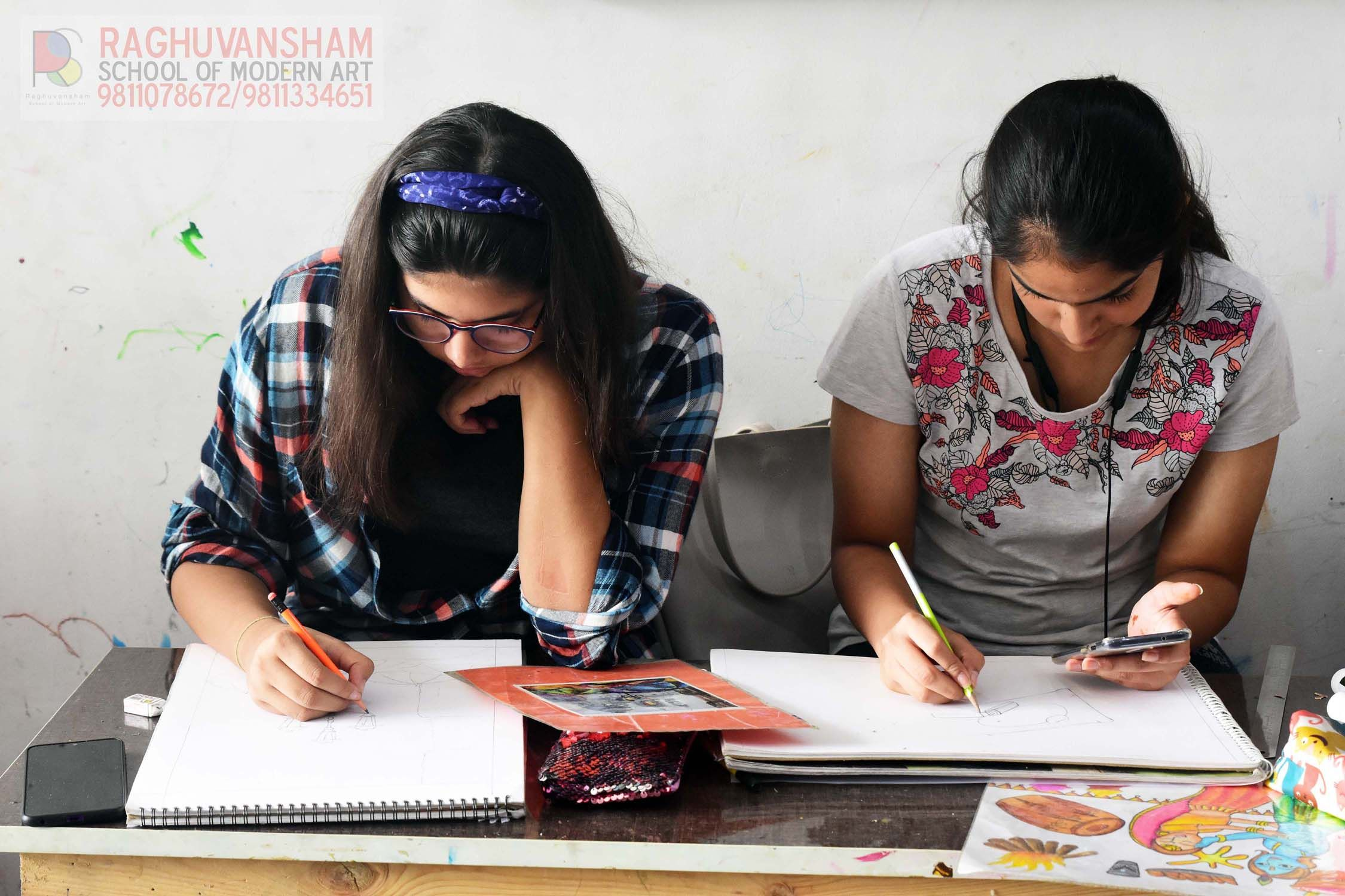 drawing courses in delhi