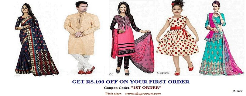 Designer Silk Saree at 60% Off-Shoprecent India