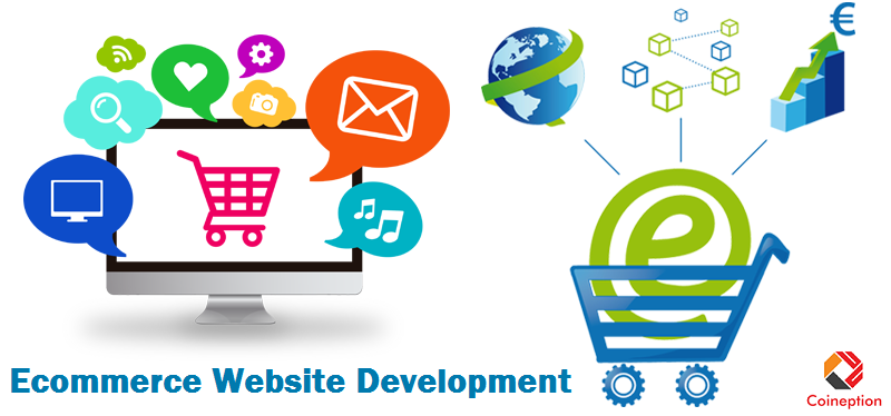 Ecommerce Website Development Company in Noida - Coineption Technology