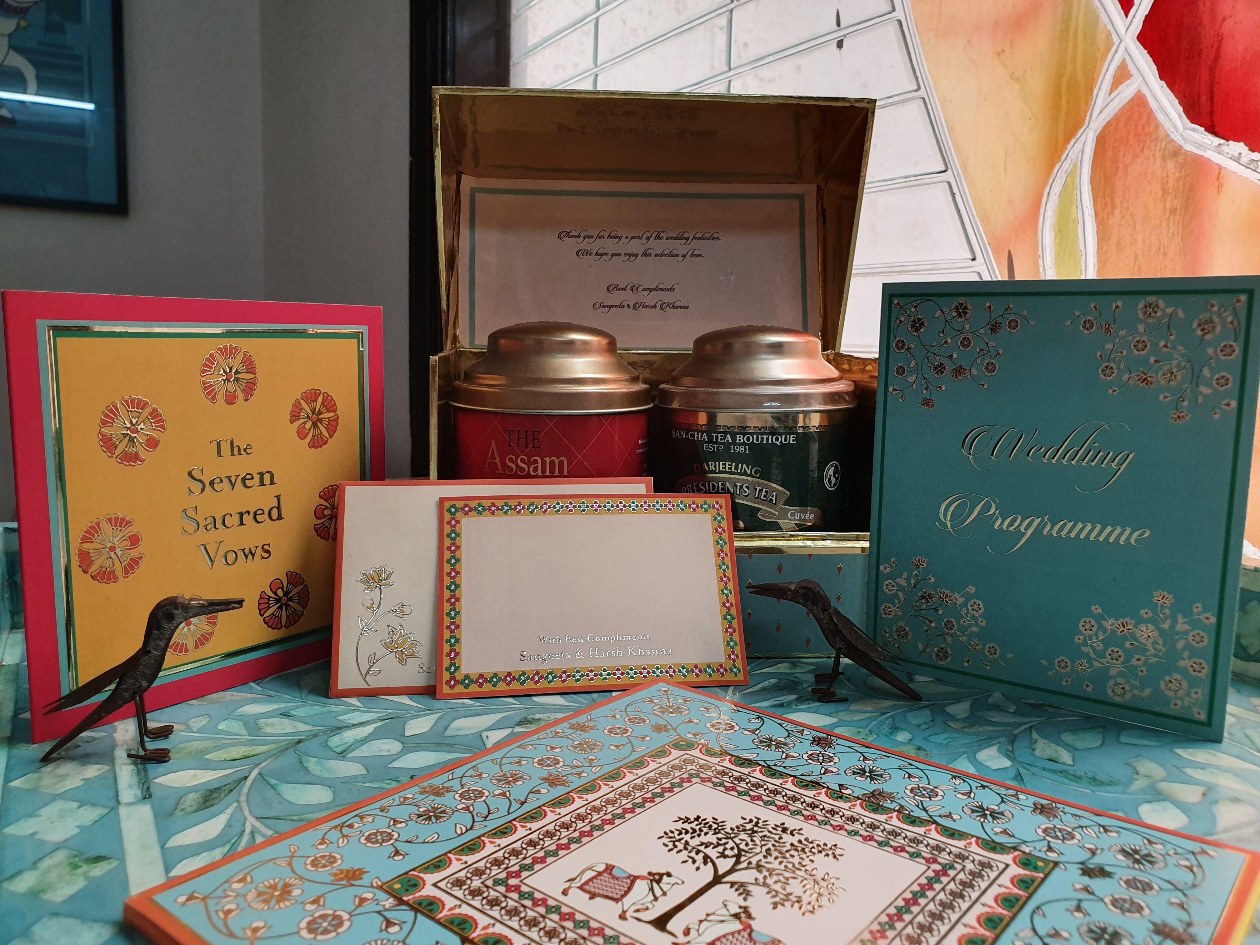 Indian Wedding Invitations Card Designing in Delhi