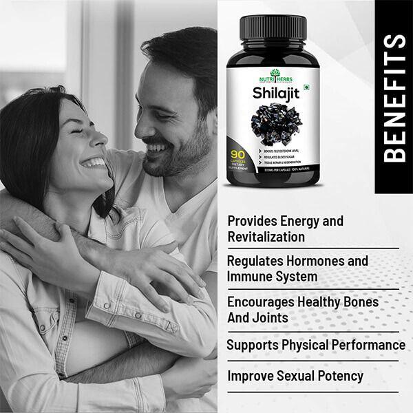 Best Shilajit 90 Capsules for Men and Women