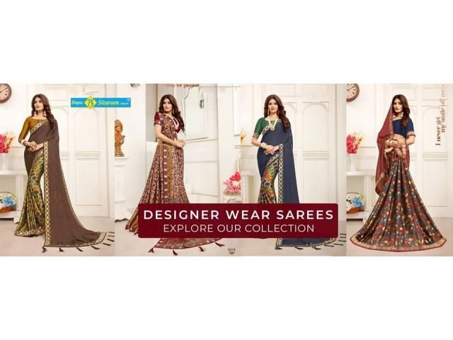 Saree Wholesale Dealers in Surat