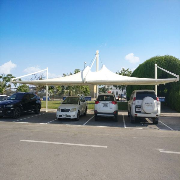 Parking shades and Tensile shade structures
