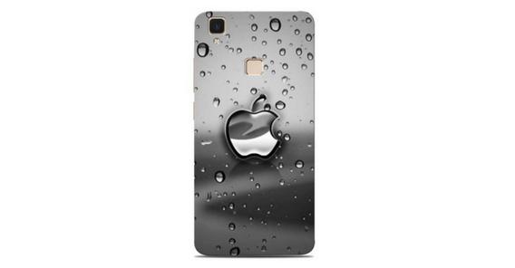 Apple in Rain Drops Designer Vivo V3 Max Back Cover