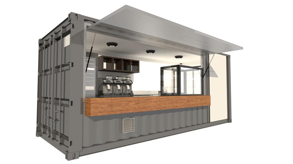 Prefabricated Coffee Shop Manufacturer in Mumbai & Thane