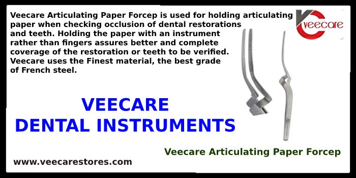 Veecare Articulating Paper Forcep at Best Price Online | Prosthodontic instruments