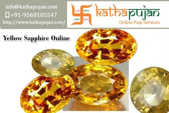 Yellow sapphire stone online