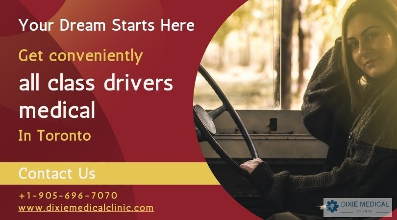 Fulfill your dream job get drivers medical in one appointment