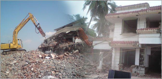 Building Demolition Contractors in Chennai - VRVR Constructionss