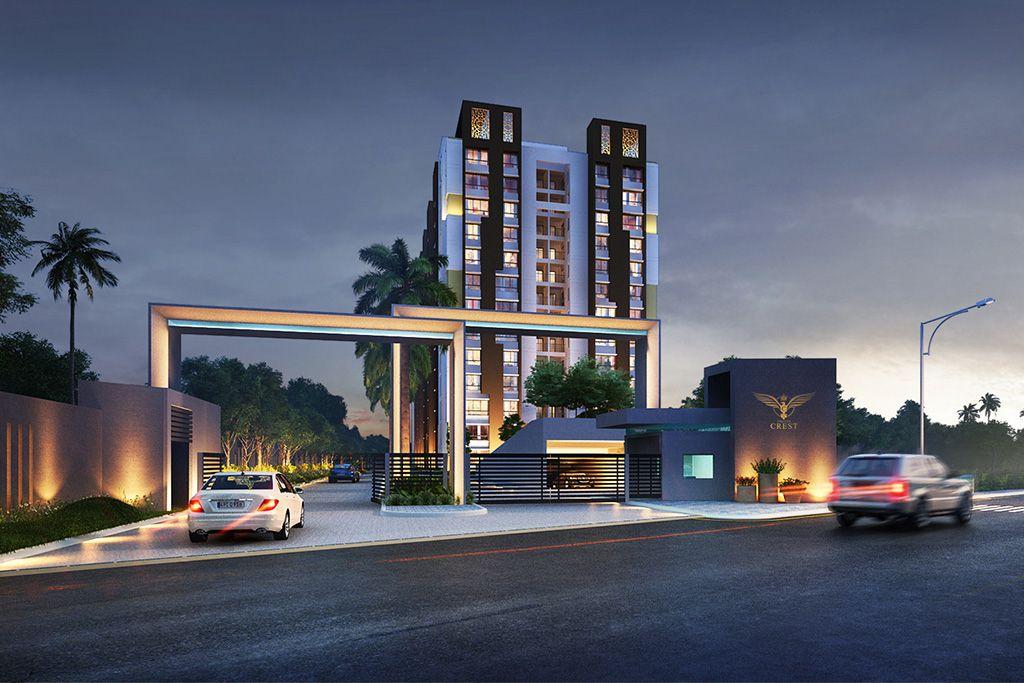 Premium life style Aparments in Bhubaneswar - Falcon Crest