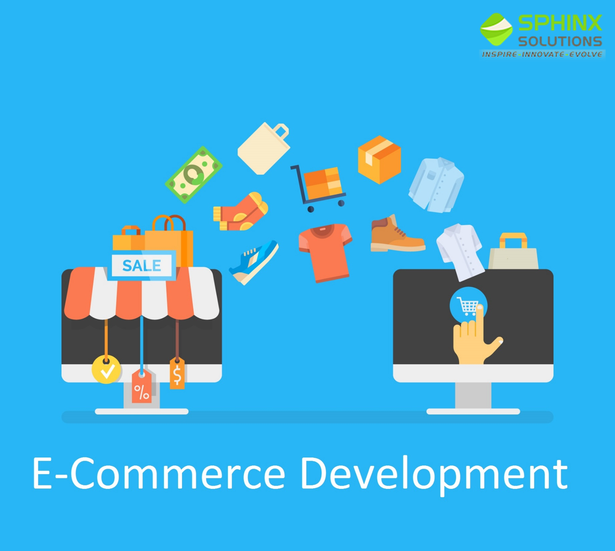 Create Your Online E Commerce Website | Sphinx Solution