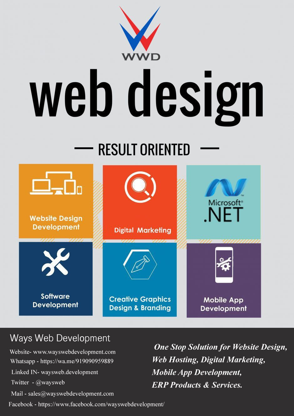 On Path Of A Sustainable Growth- Ways web development