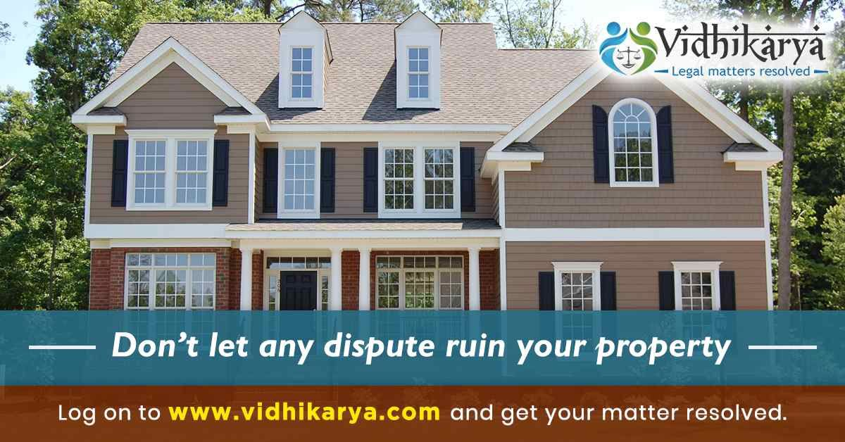 Get Instant Legal Solutions Property Dispute Case in Mumbai