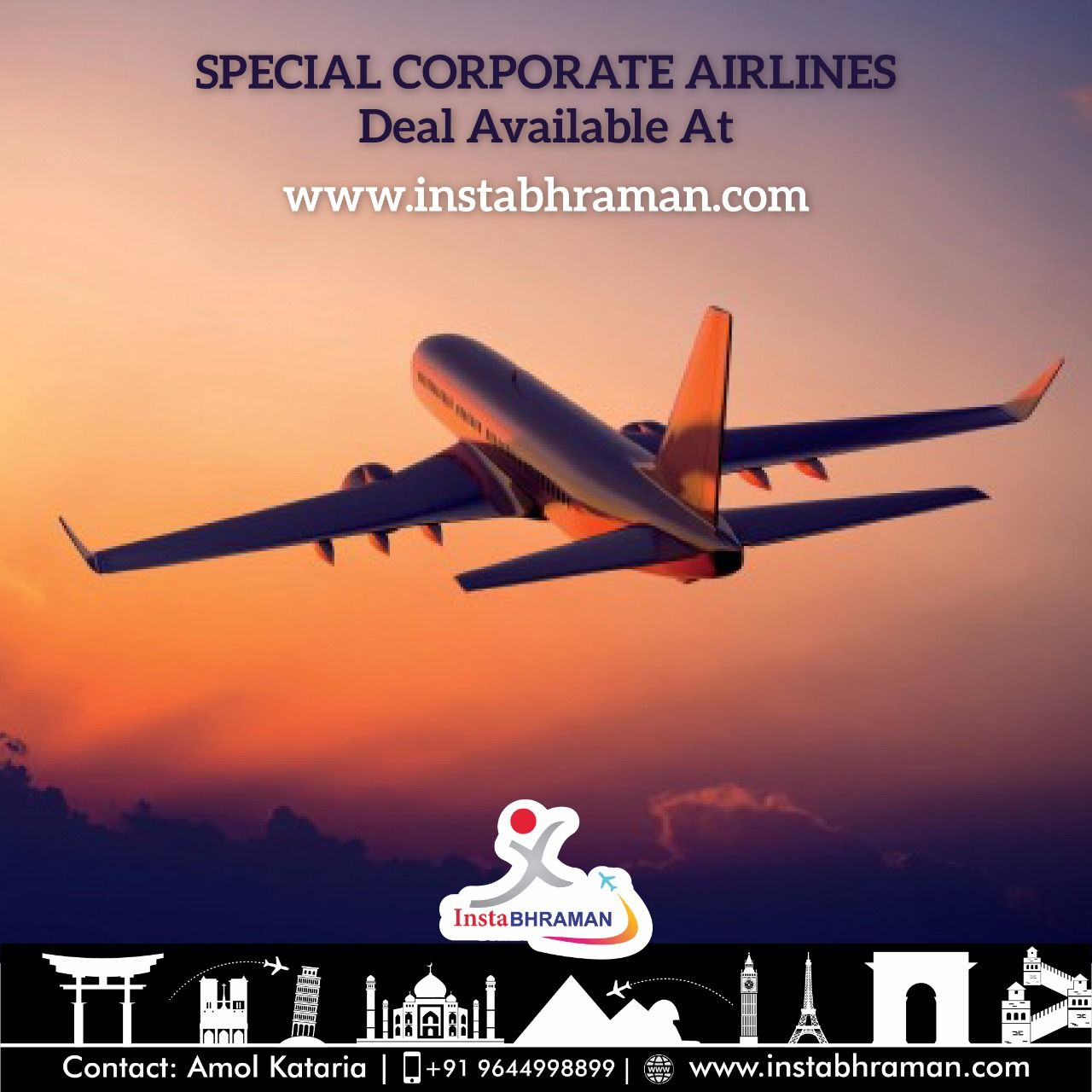 Hotel Reservation | Air Tickets | Instabhraman