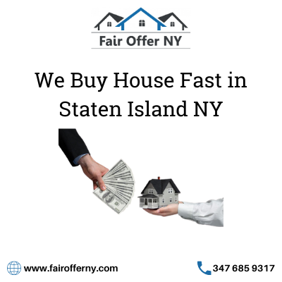 We Buy House Fast in Staten Island NY - Fair Offer NY