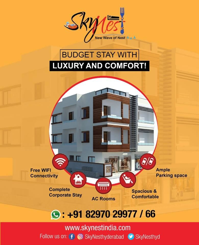 Luxury Service Apartment in Hyderabad | Skynest Service Apartments