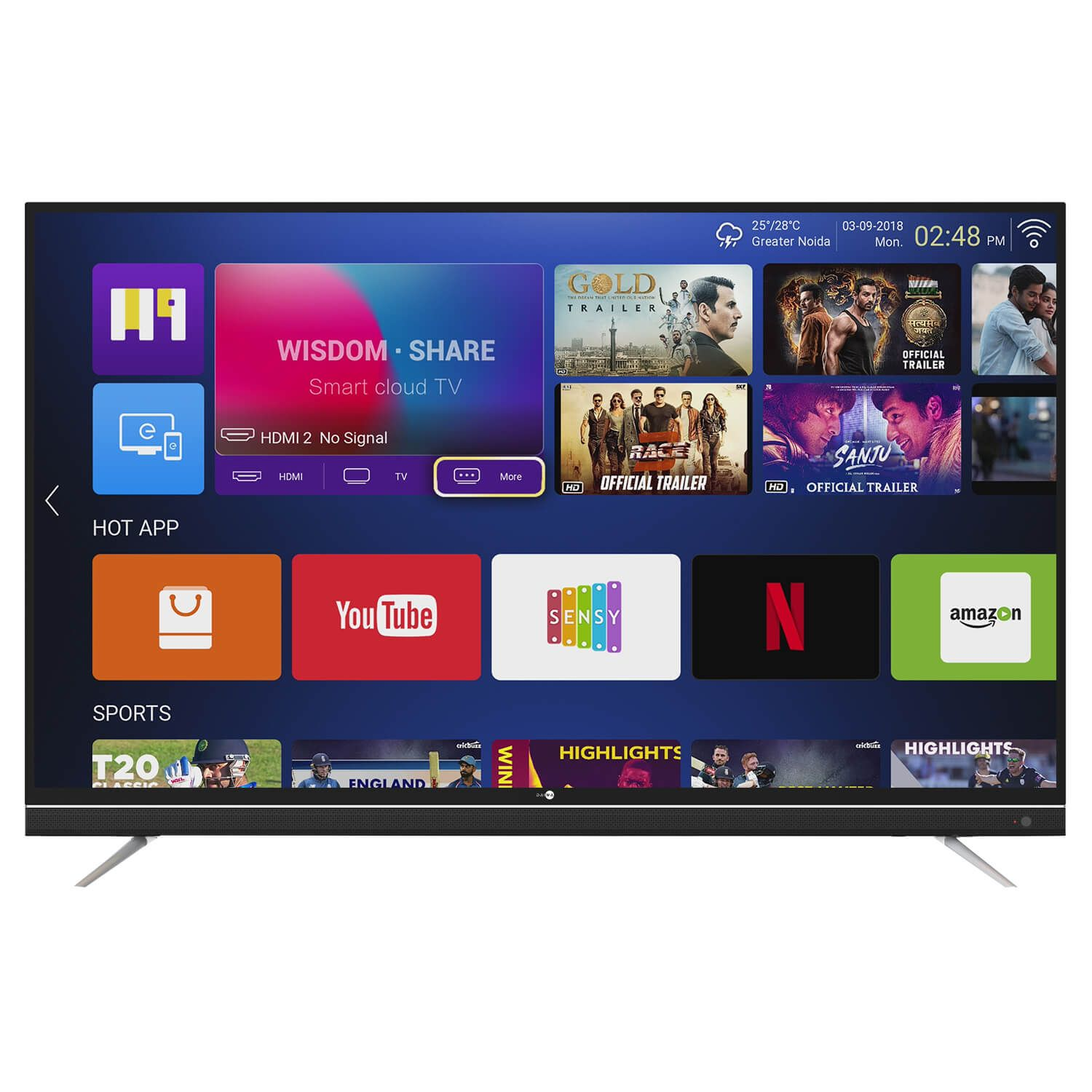 Daiwa 49 inch 4K UHD Quantum Luminit Smart LED TV Online