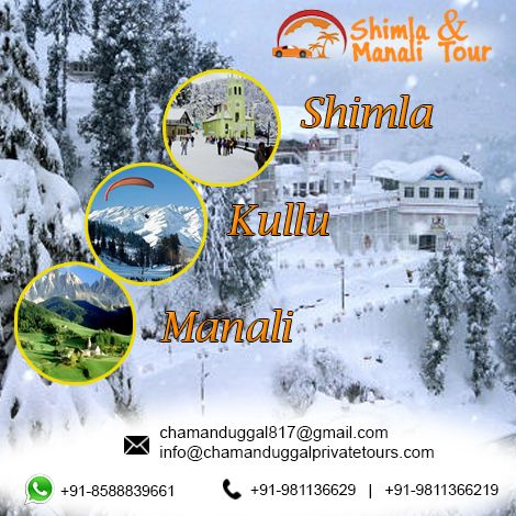 Himachal Tour Packages from Delhi Call : +91-8588839661