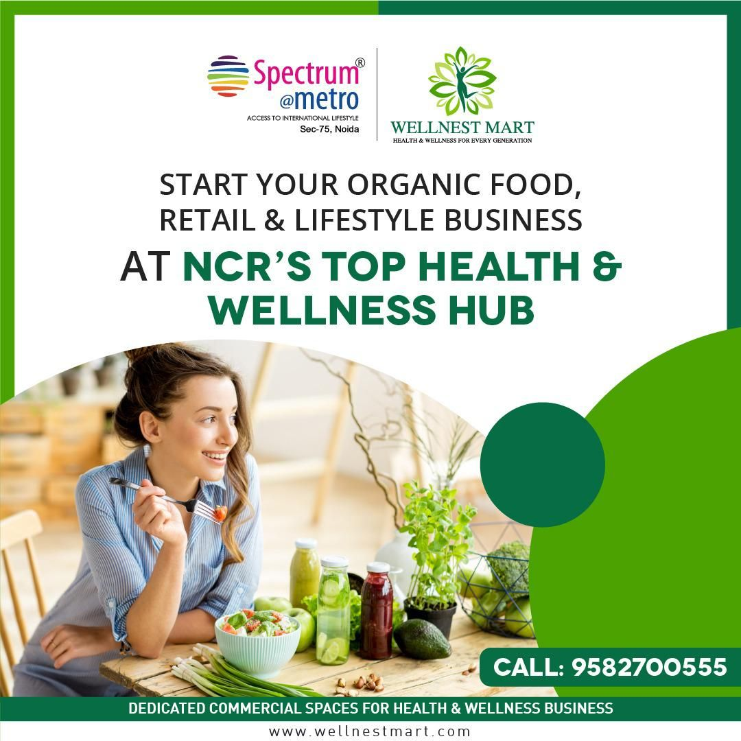 "It's Right time to Book a Commercial Space for your New Yoga & Mediation Center at ""WELLNEST"" NCR's No.1 Health & Wellness  Hub"