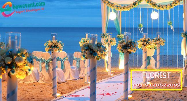 Wedding Florist designer in Patna - Flower decorators in Patna with bowevent.